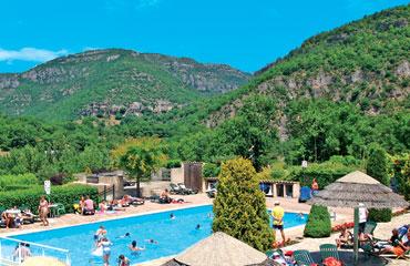 Camping Val de Cantobre, Cevennes,Rhone Alpes,France