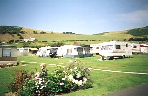 Ocean View Caravan Park, Aberystwyth,Ceredigion,Wales