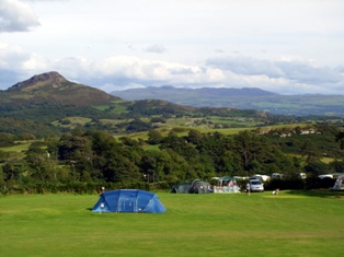 Mynydd Du Caravan Park, Criccieth,Gwynedd,Wales