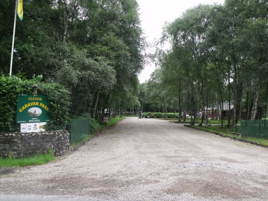 Glenesk Caravan Park, Edzell,Angus,Scotland