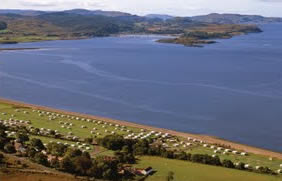 North Ledaig Caravan Park, Oban,Argyll and Bute,Scotland