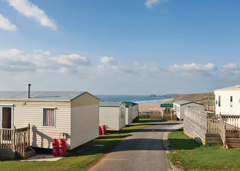 Liskey Hill Holiday Park, Perranporth,Cornwall,England