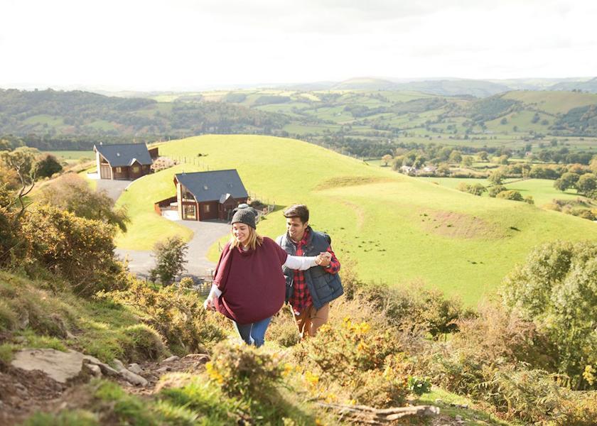 Slate House Lodges, Llandinam,Powys,Wales