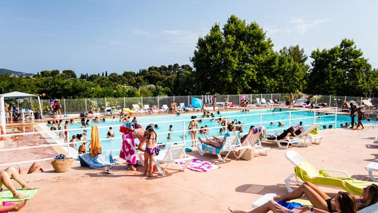 La Baie des Anges Campsite, La Ciotat,Cote d'Azur,France