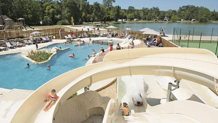 Pomport Beach Campsite, Pomport,Centre,France