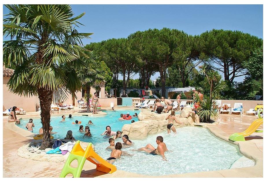 Campsite Les Cigales, Mandelieu-la-Napoule,Cote d'Azur,France