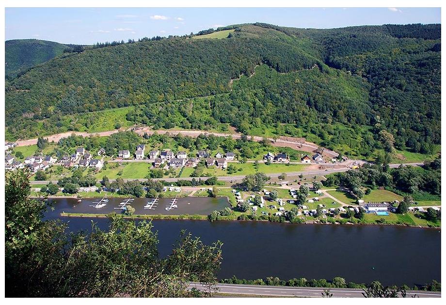 Knaus Campingpark Burgen/Mosel, Burgen,Rhineland Palatinate,Germany