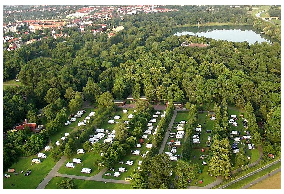 Campsite Knaus Campingpark Leipzig Auensee, Leipzig,Saxony,Germany