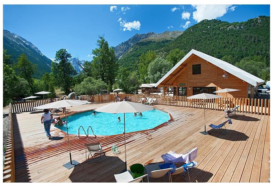 Campsite Huttopia Vallouise, Vallouise,Provence Cote d'Azur,France
