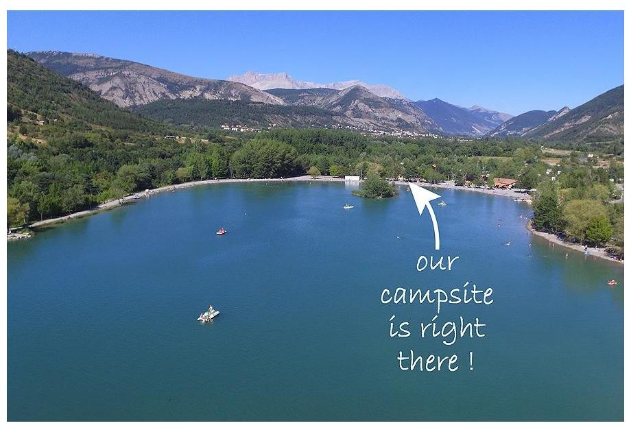 Campsite Les Rives du Lac, Veynes,Provence Cote d'Azur,France