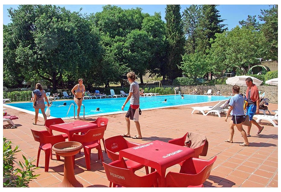 Campsite Colleverde Siena, Siena,Tuscany,Italy