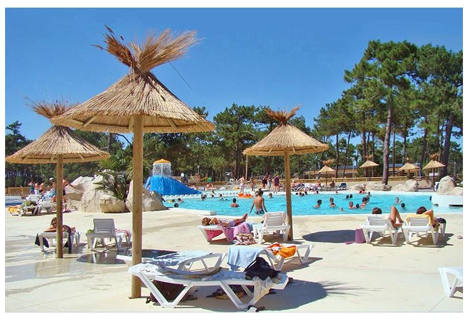 Campsite Atlantic Club Montalivet, Vendays-Montalivet,Aquitaine,France