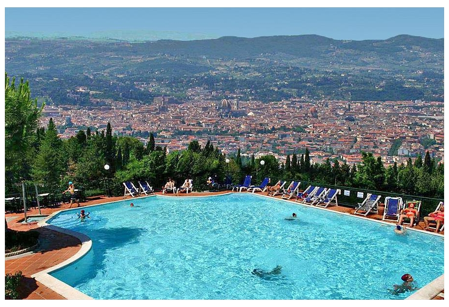 Campsite Panoramico Fiesole, Fiesole,Tuscany,Italy