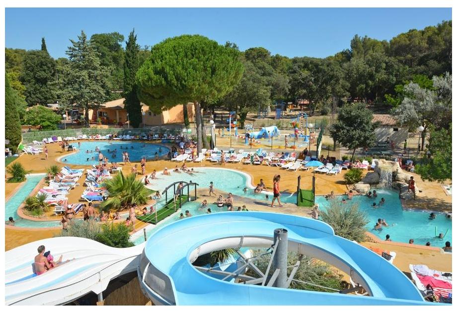 Campsite Sandaya Le Plein Air des Chenes, Clapiers,Languedoc Roussillon,France