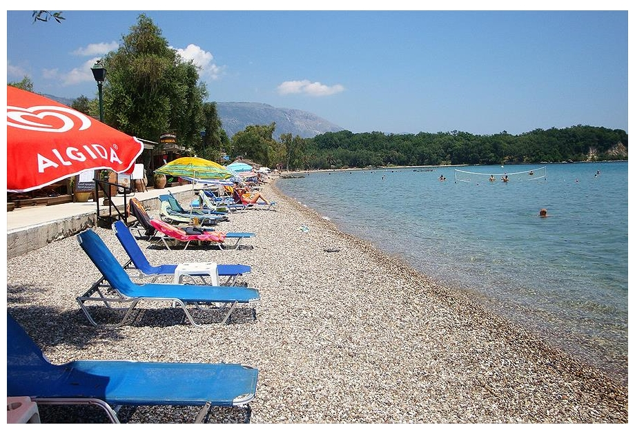 Campsite Karda Beach, Dassia,Ionian Islands,Greece
