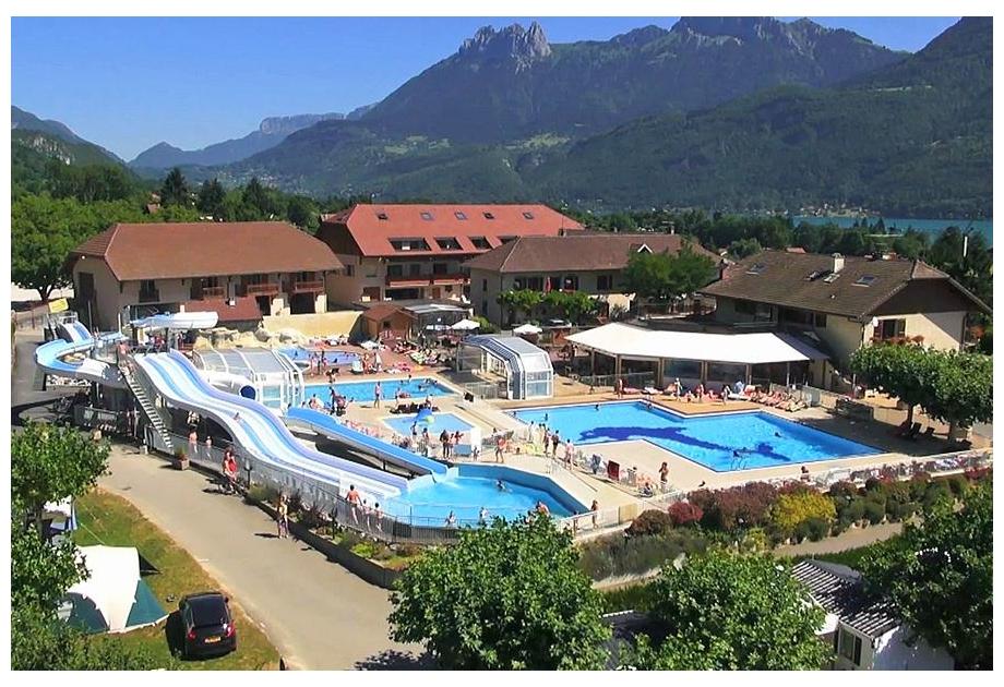 Campsite l'Ideal, Lathuile,Rhone Alpes,France