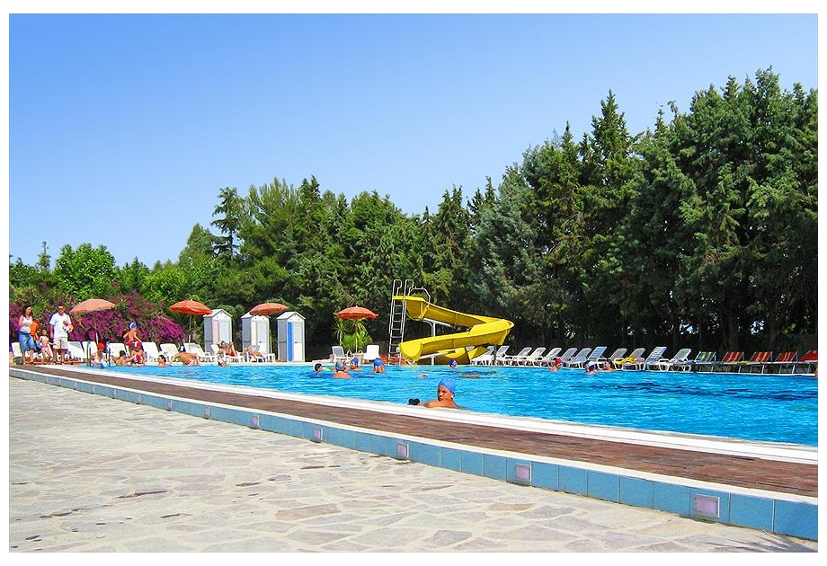 Camping Village Paestum, Eboli Mare,Lombardy,Italy