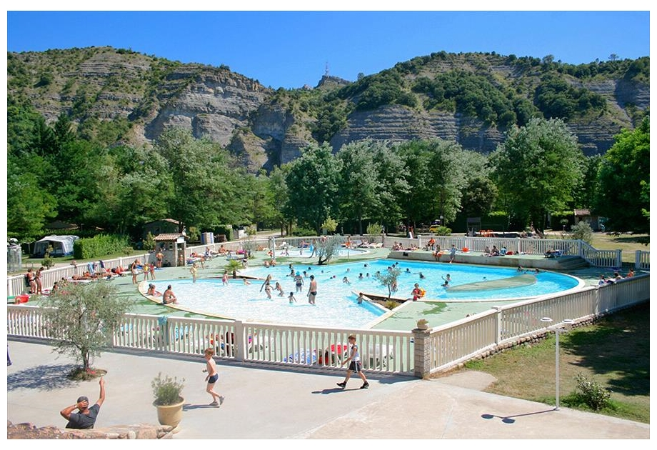 Campsite La Grand' Terre, Ruoms,Rhone Alpes,France