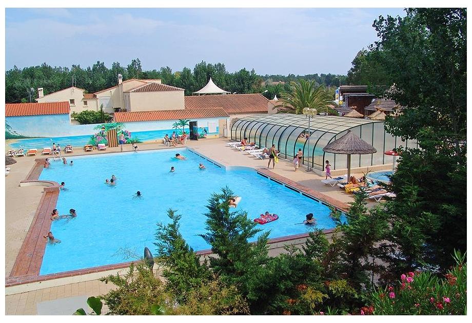 Campsite Le Clos Virgile, Serignan-Plage,Languedoc Roussillon,France