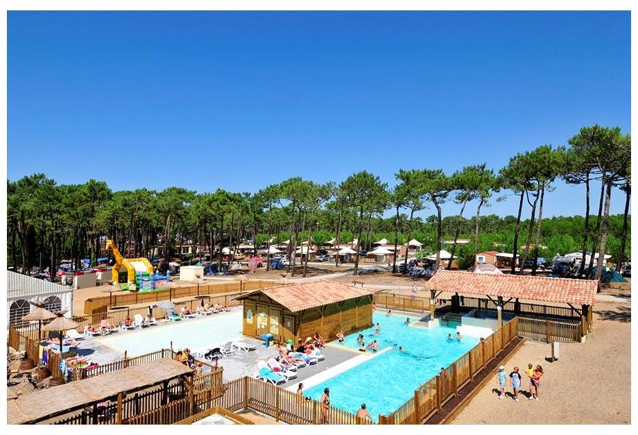 Campsite Campeole Les Tourterelles, Vielle-Saint-Girons,Aquitaine,France
