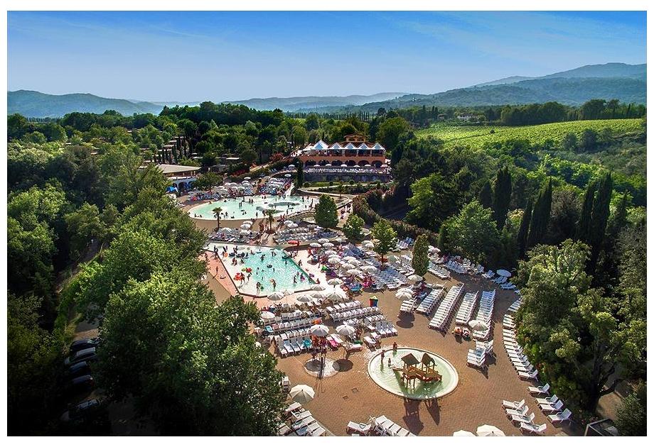 Campsite Norcenni Girasole Club, Figline Valdarno,Tuscany,Italy